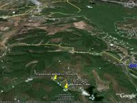 окрестности села Родное и проезд от шоссе Балаклава - Хмельницкое - Терновка к страусиной ферме и Мердвен Тубю