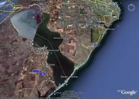 Шабо и окрестности Днестровского лимана на снимках Гугл Земля