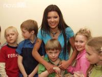 Руслана. Запись клипа с детьми на песню В ритме сердца
