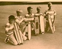 американские скейтеры, 1953 год