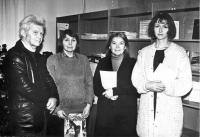 "сотрудники библиотеки ""Таврика"", справа Людмила Мыц, слева Вадим Гарагуля"
