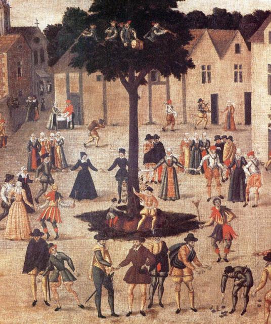 Бытовые танцы эпохи Возрождения 54892440