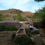 Лысые горы с источниками в Симферопольском районе. Таз-тау и каньон Малого Салгира