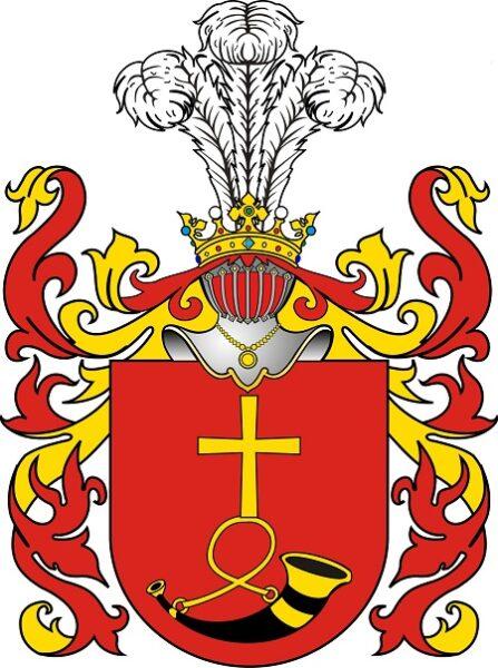 герб Сухекомнаты польской шляхты