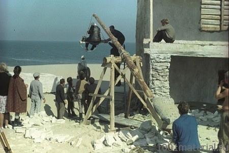 Сьемки у Каспийского моря фильм Белое солнце пустыни